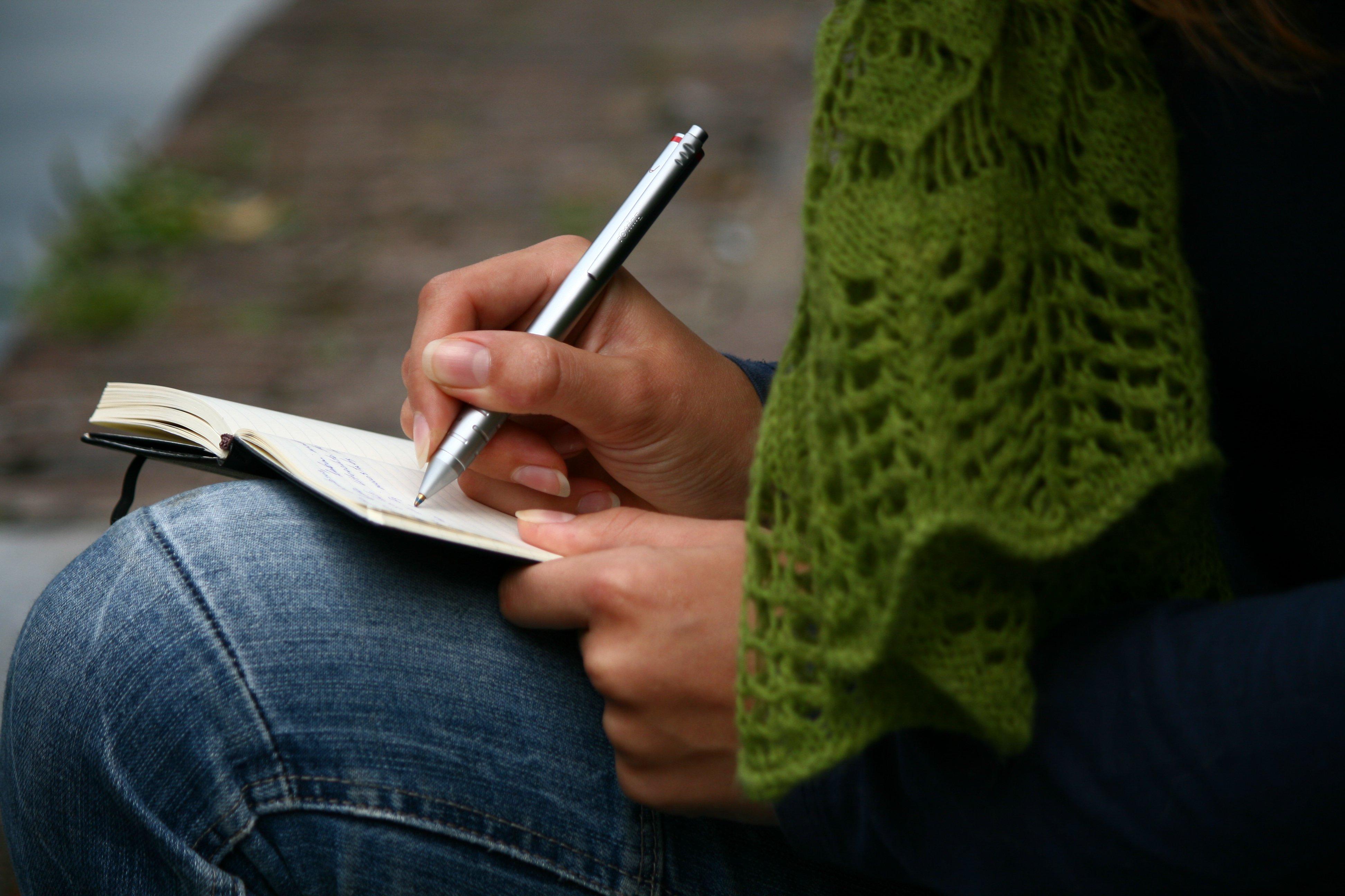 El diario literario: una cantera para el escritor -