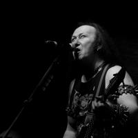 """Conrad """"Cronos"""" Thomas Lant, Vocalista de Venom. Festival del Diablo 2015/ Foto de Humberto P. Manrique."""