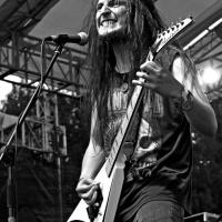 Camilo Muñoz, vocalista de Perpetual Warfare. Festival del Diablo, 2015/Foto de Humberto P. Manrique.