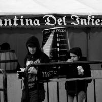 Cantina del Infierno. Festival del Diablo 2015/Foto de Humberto Manrique.