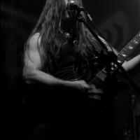Dogon, cantante y guitarrista de Inquisition. Festival del Diablo 2014/Foto de Humberto P. Manrique.