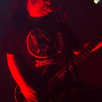 Jeff Walker, cantante y bajista de Carcass. Festival del Diablo 2014/Foto de Humberto P. Manrique.