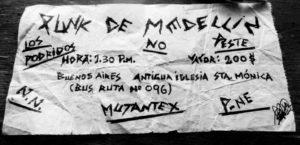 Malos Aires: el cura, los punk, y la policía. Primer festival de punk en Medellín (1986) -