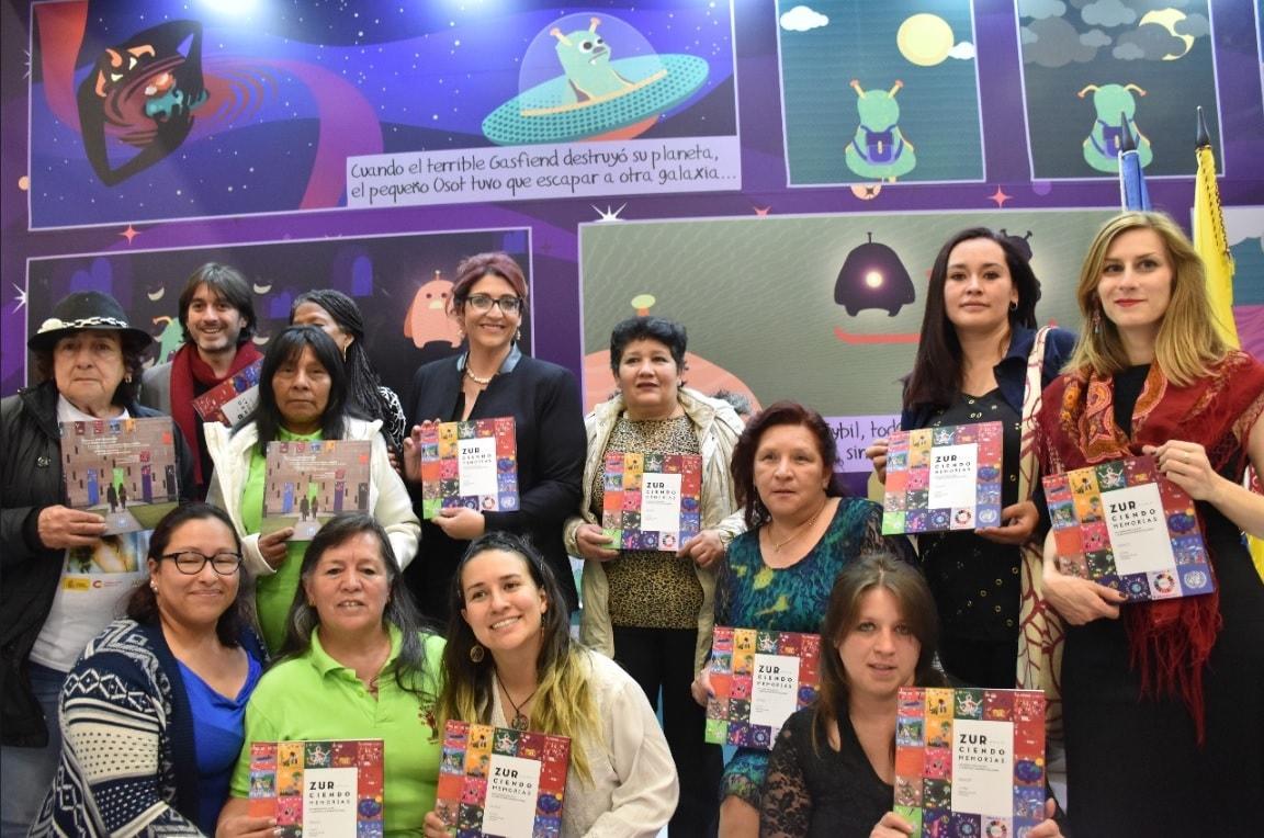 Tejidos para reconstruir la memoria colombiana - filbo