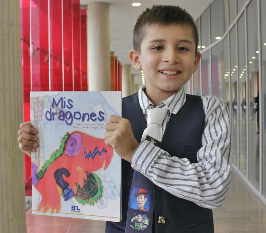 El pequeño dragón llanero que estrenó su libro en la FILBo2018 - filbo