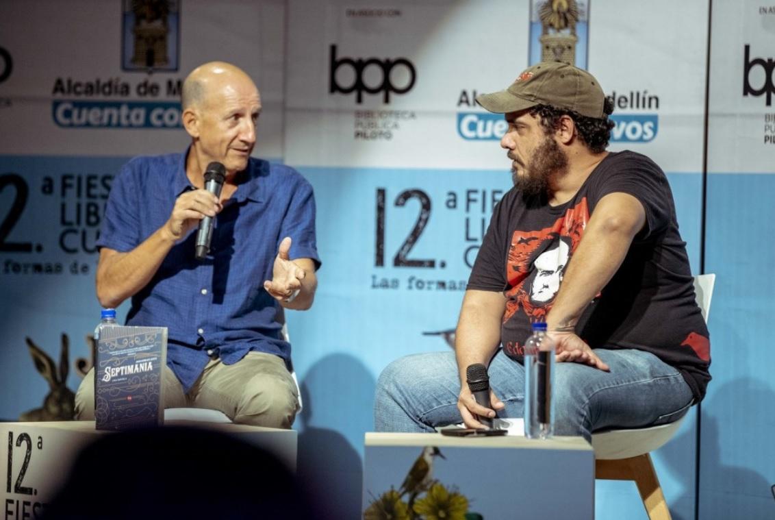Jonathan Levi celebra su primer libro en español - Fiesta del libro