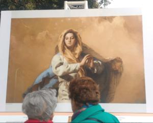 Giovanni Battista Tiepolo - Inmaculada Concepción. Museo del Prado en Bogotá