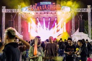Detalle del escenario norte en Altavoz Fest. Foto de: David Meneses.