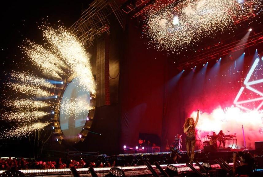 Shakira: un concierto de antología - musica