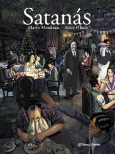 Satanás, la novela gráfica de Mario Mendoza y Keco Olano - diseno