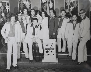 Orquesta de planta del H.N SuperStar. Archivo del Hotel Nutibara
