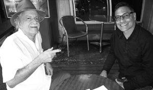 Pedro Alcántara y Hernando Blandón. Fotografía por Mónika Herrán.