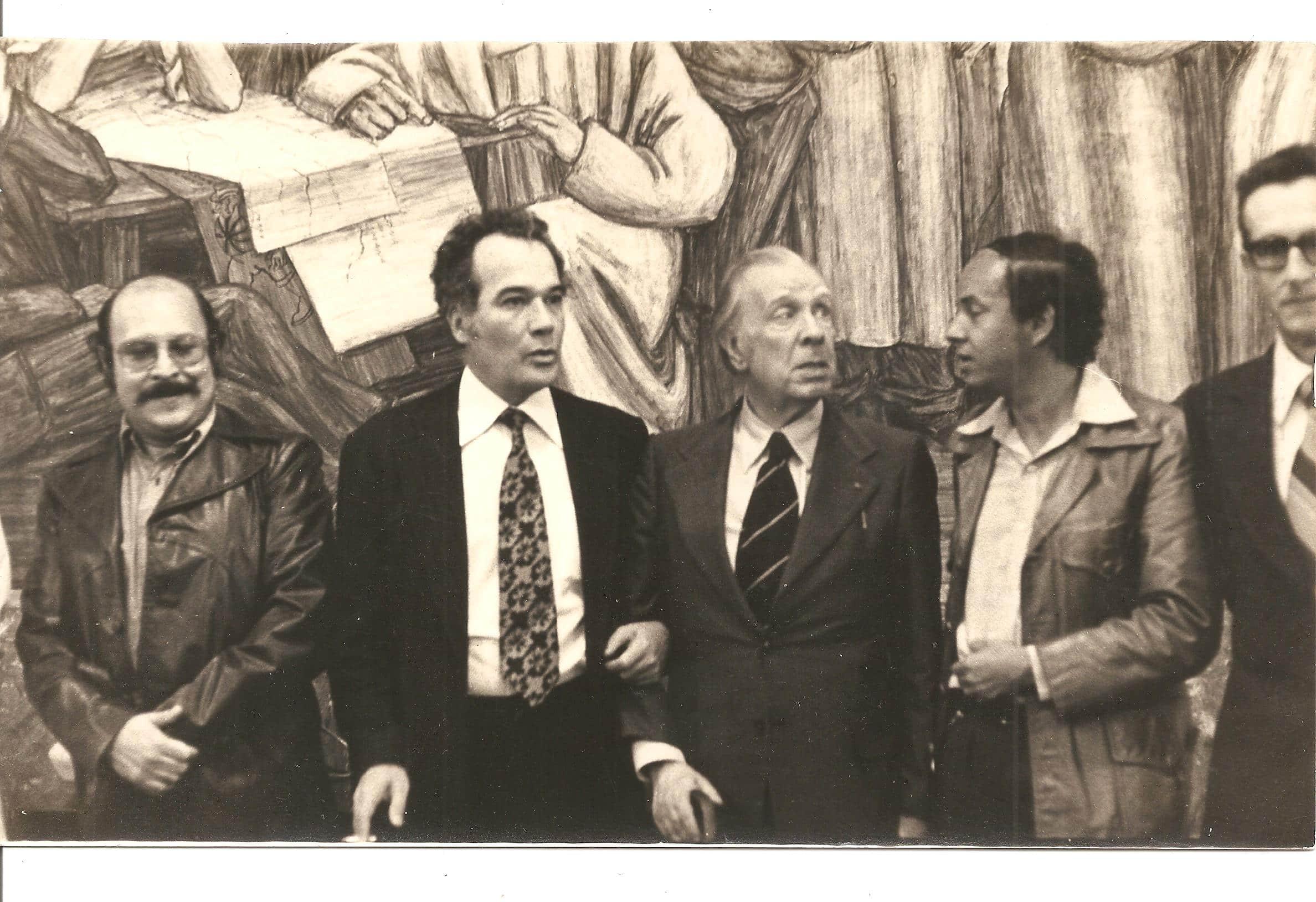 Borges, dos veces en Medellín - Literatura