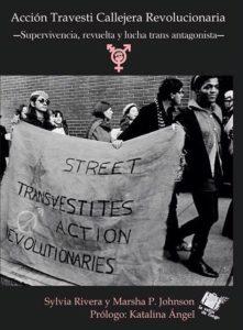 Acción travesti callejera y revolucionaria. Imagen de portada.