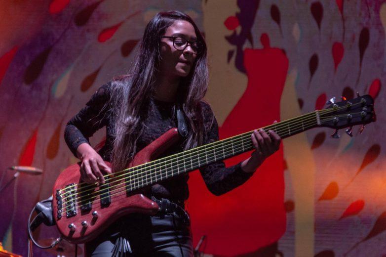 Sonora (Mujeres músicas de Medellín) Altavoz Fest 2019. Fotografía por Alejandro Valencia Carmona