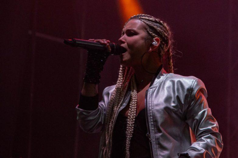Sonora (Mujeres músicas de Medellín) Altavoz Fest 2019. Fotografía por Alejandro Valencia Carmona.