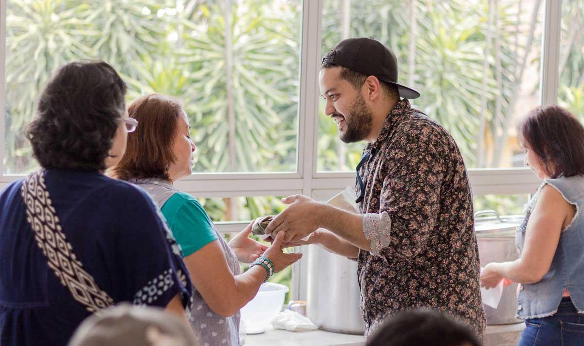 """Emmanuel Taborda Blandón: """"No hay casa sin cocina"""" - Cocina Como Acción Social"""