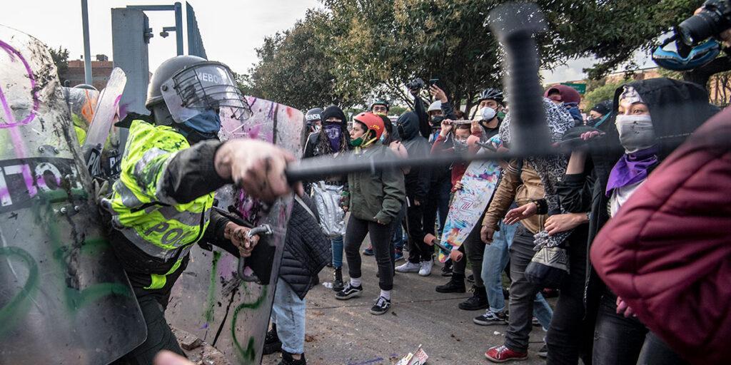 La protesta como acto de martirio - el-cronicario